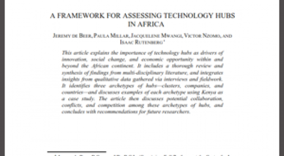 Patenting the un-patentable: Lessons for African patent systems from a review of patent subject matter exclusions in Kenya.
