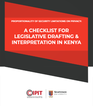 a checklist for legislative