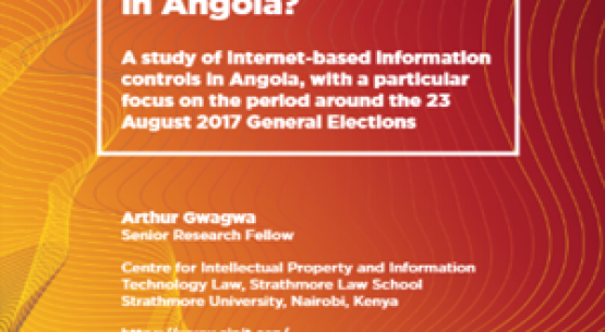 Digital Media: An emerging repression battlefront in Angola? A study of Internet-based information controls in Angola, with a particular focus on the period around the 23 August 2017 General Election
