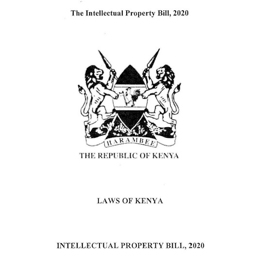 Some news on the Intellectual Property Bill 2020: We are moving forward.